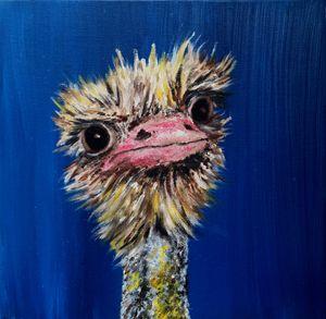 Cheeky Ostrich - Leanne Tonetti