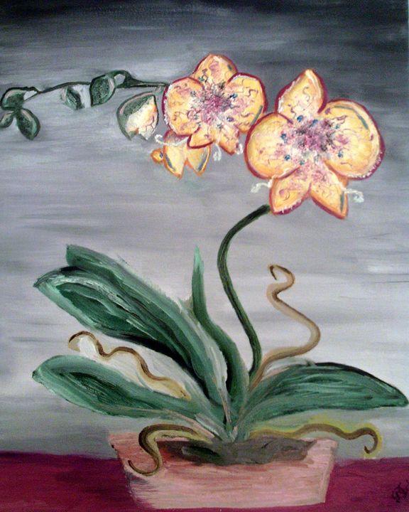 alice in wonderland flowers - Deimante Kajataite