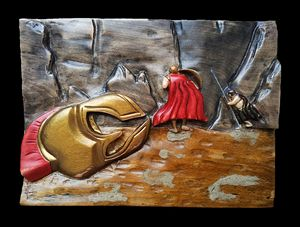 Leonidas -the battle of Thermopylae - woody tale