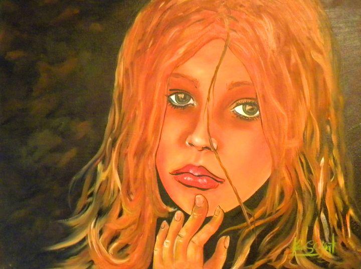 """""""Pretty Woman"""" - Ken Caffey Fine Art"""