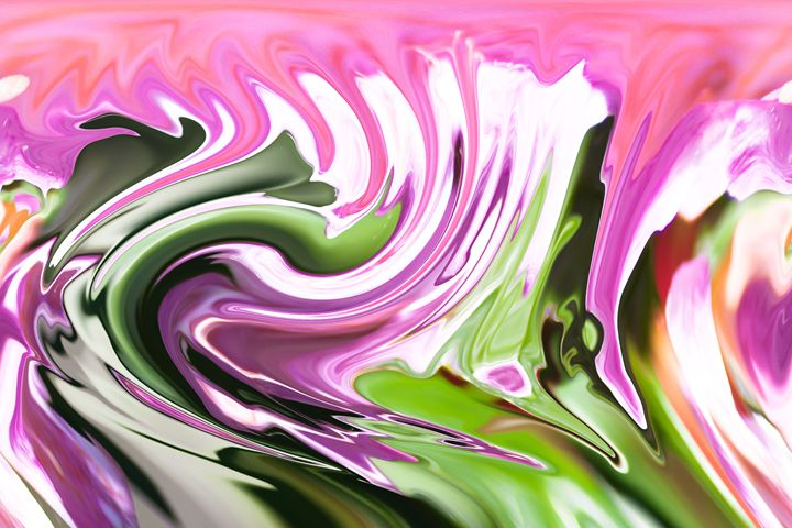 violet and pink swirling - brunopaolobenedetti