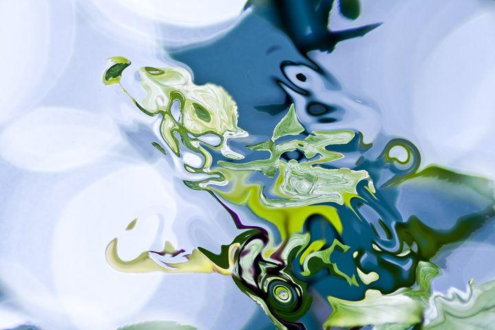 spots of lights and fluid shape - brunopaolobenedetti