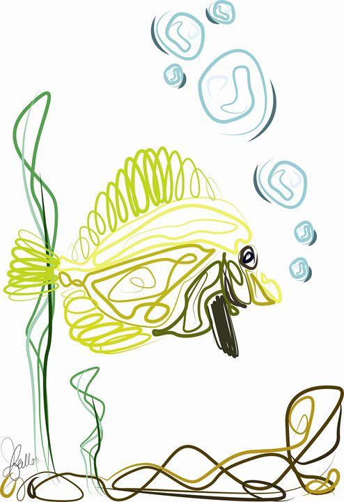 Butterfly Fish - Jeanne Fallon