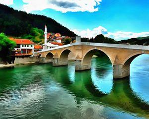 The Old Stone Bridge Konjic