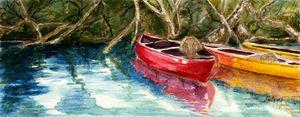 Russian River Kayaks by Grace Fong