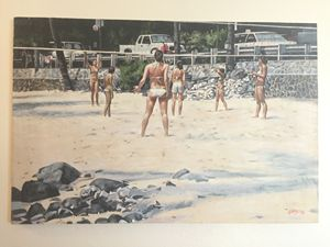 Volleyball Magic Sands Beach Hawaii