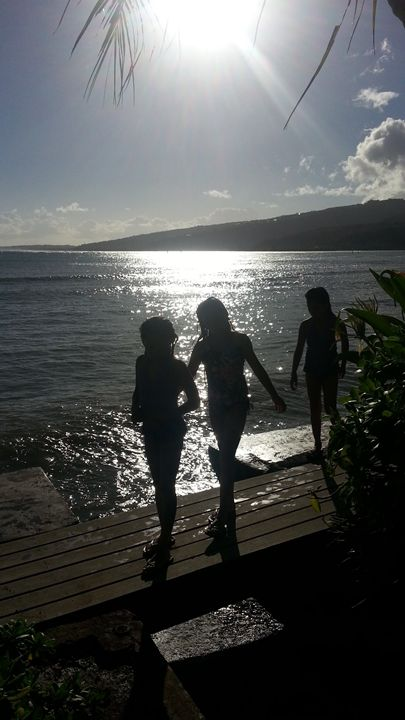 Summer Sunset Swim - 1 - Boogiba