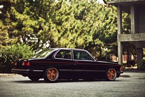BMW E21 Fuchs alloys