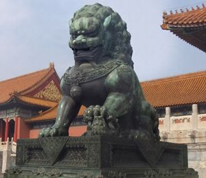 Guardian Lion - Forbidden City - RCRayner