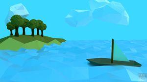 Little Sail Boat