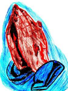 Praying Hands II