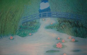 A walk on Monet's bridge