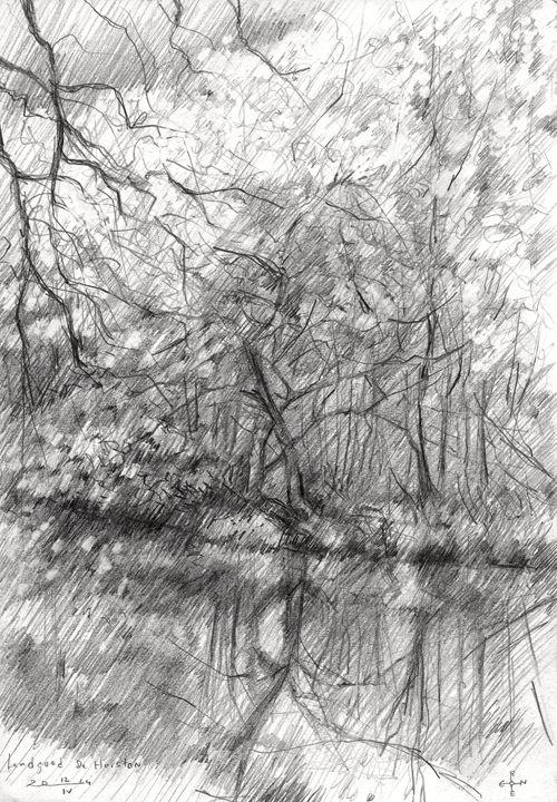 Royal estate 'De Horsten' - 14-04-14 - Corné Akkers art works