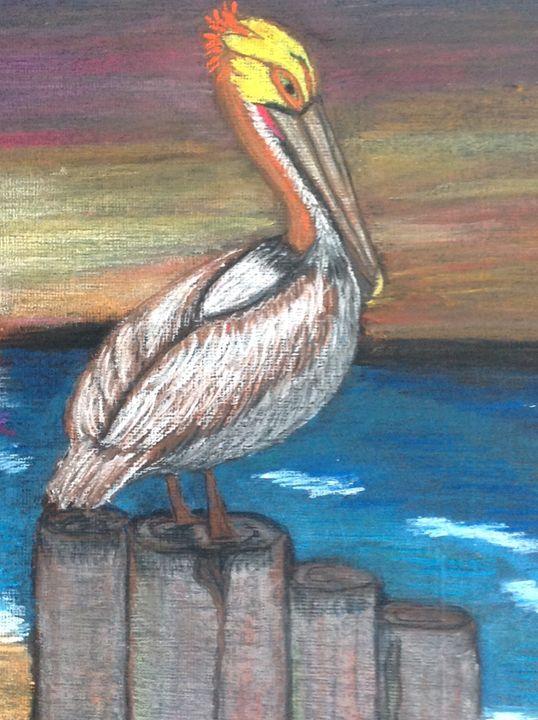 Lonely Pelican - Dahleen
