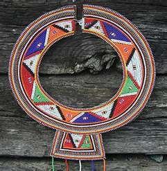 Tribal Wedding Necklace - Maasai Crafts Gallery