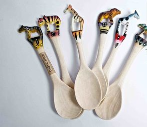 Hand Painted Spoon