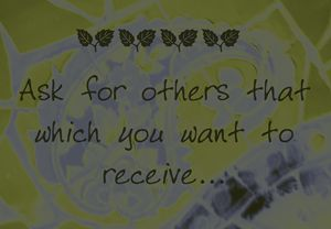 Ask for others
