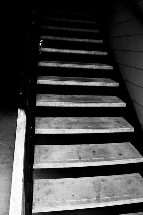 Footsteps on the Stairs - Britt Barlag