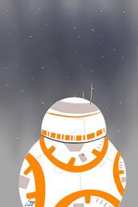 Underneath the war of stars BB-8