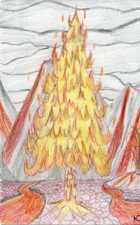 The Fire Tree - K.T. Sketches