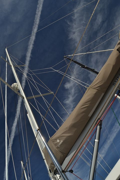 Tall Masts, Blue Sky - Fine Art Photography, Nature and More!