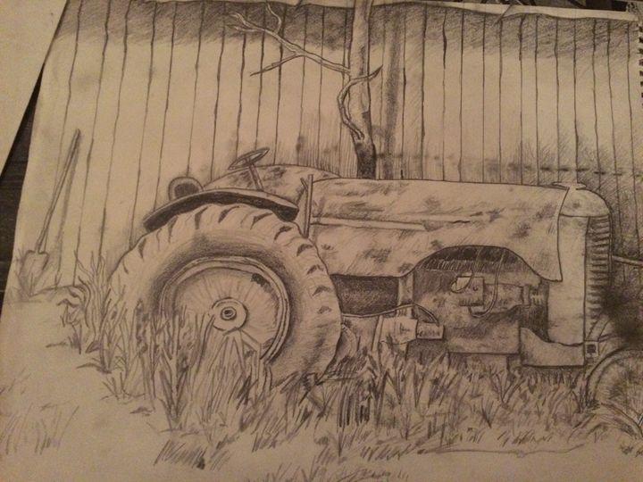 Country Tractor - Kat's Art