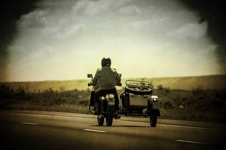 Desert Ride - Ron Pierce Photography