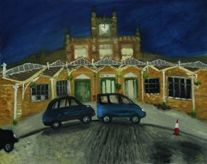 Bristol Temple Meads station - Bristol Impressionist JZ
