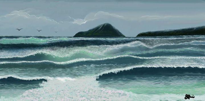 "'The Rushing Waves"" reedited - J.B. ASPERIN ART"