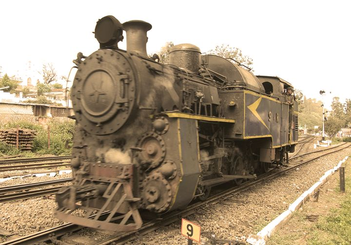 Steam Locomotive - Bhaswaran