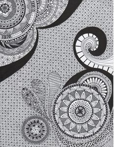 Zentangle Art - Mandala