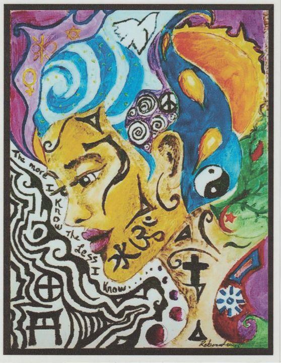 The more I know - Art of Becca Nicole