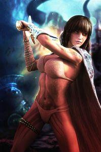 Fantasy Warrior Queen