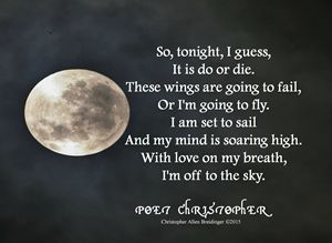 Set to Sail - Poet Christopher