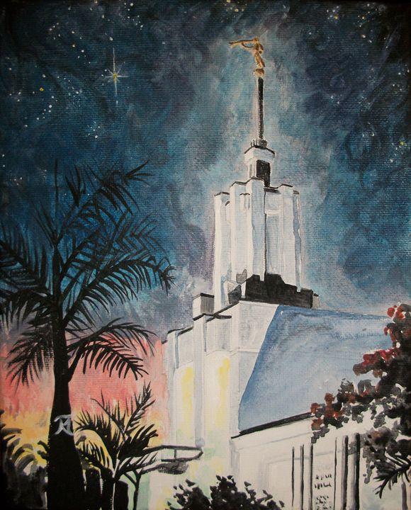 Nuku'alofa Tonga LDS Temple - Bekablo Creations