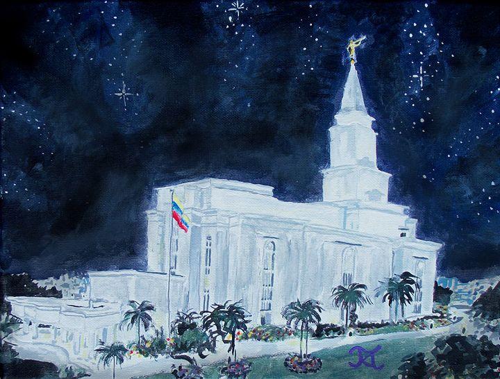 Guayaquil Ecuador LDS Temple - Bekablo Creations