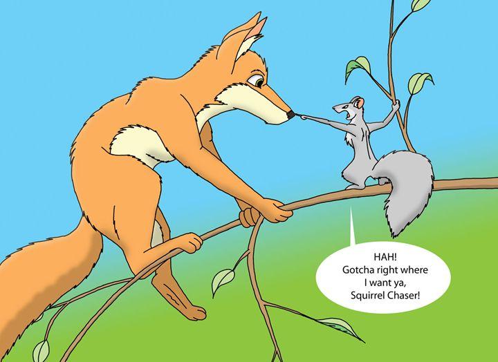Squirrel's Revenge - Zephandolf