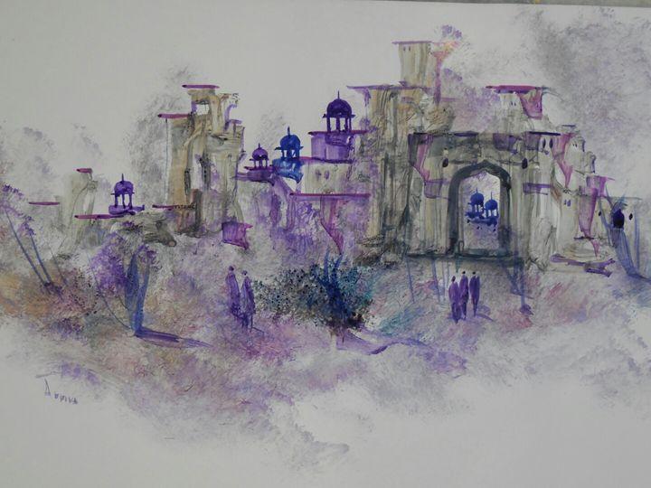 palace blue life - ATMA D' ART