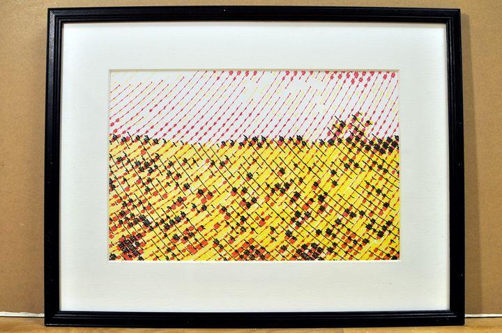 Yellow flowerfield - Kaizer Abdullah von Maanen