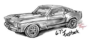 "1967 Mustang Fastback ""Eleanor"""