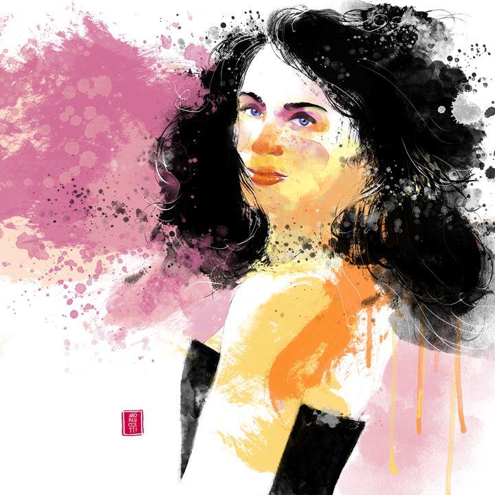 Lady B. - Alessandro Andreuccetti Art