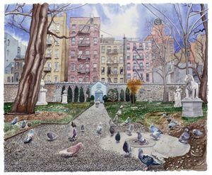 New York City East Village Cemetery