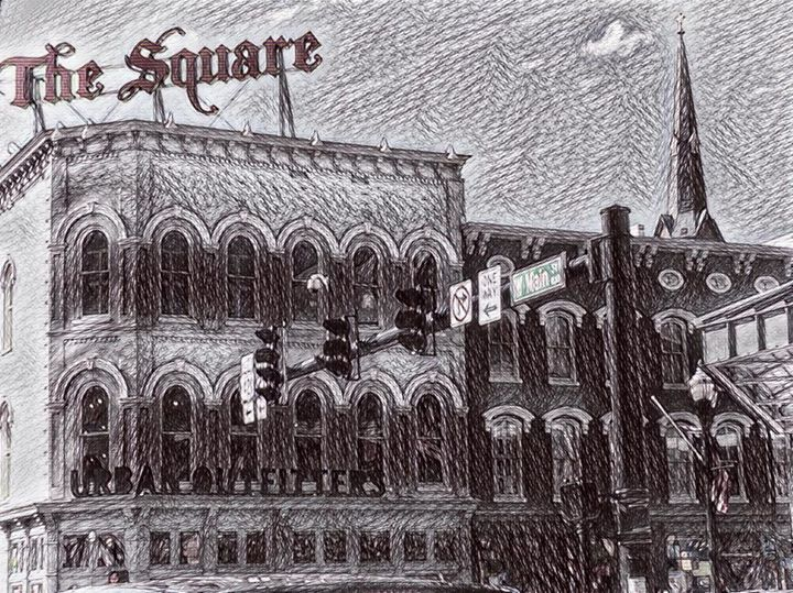 The Square In Ink - Hannah De Morlaix
