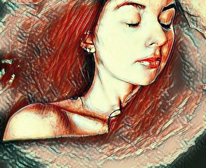 Femme Rouge - Hannah De Morlaix