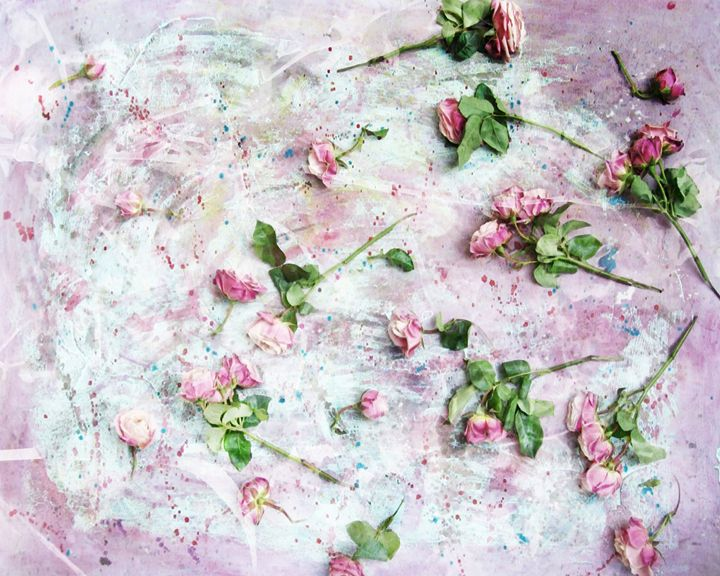 Painted By Heart - Flowers by Alaya Gadeh