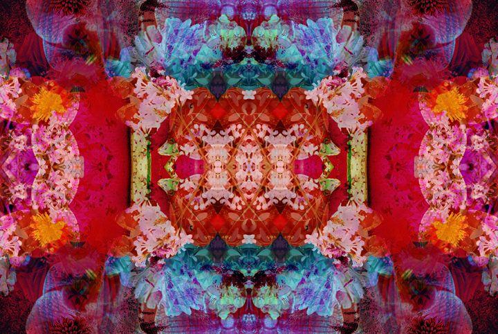 Poetic Symmetry From flowers - Flowers by Alaya Gadeh
