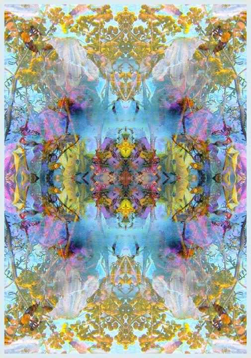 Acre Flower Ornament VIII - Flowers by Alaya Gadeh