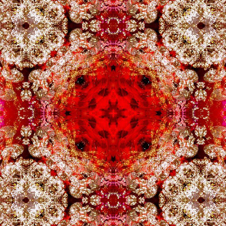 fotomontage von blumen und wasser li - Flowers by Alaya Gadeh