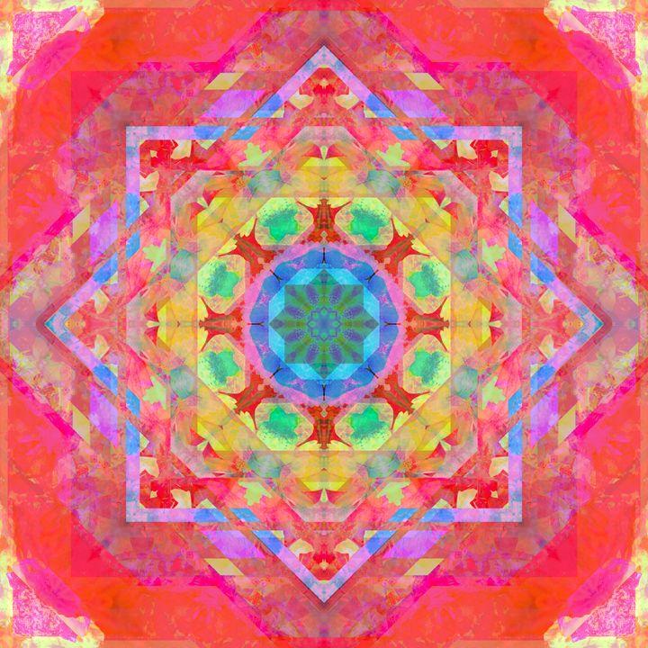 Geometric Floral - Flowers by Alaya Gadeh