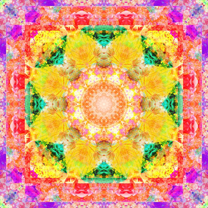 Colors Of Happiness I - Flowers by Alaya Gadeh